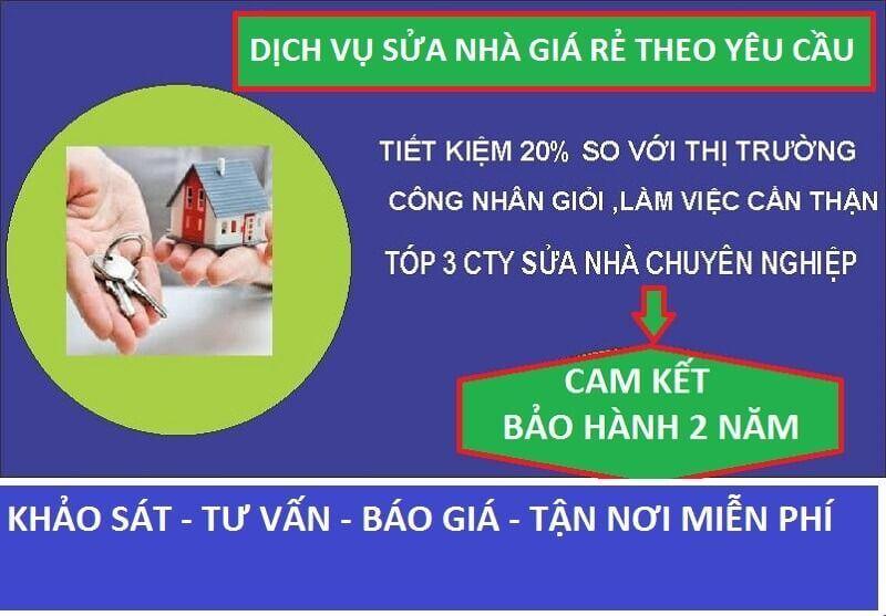 Sửa Chữa Nhà Giá Rẻ Tại Tp Hồ Chí Minh