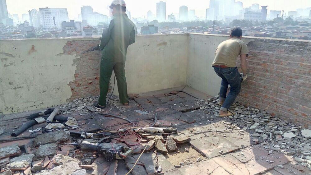 Phá Dỡ Công Trình Gía Rẻ Chuyên Nghiệp Uy Tín Tại TP Hồ Chí Minh