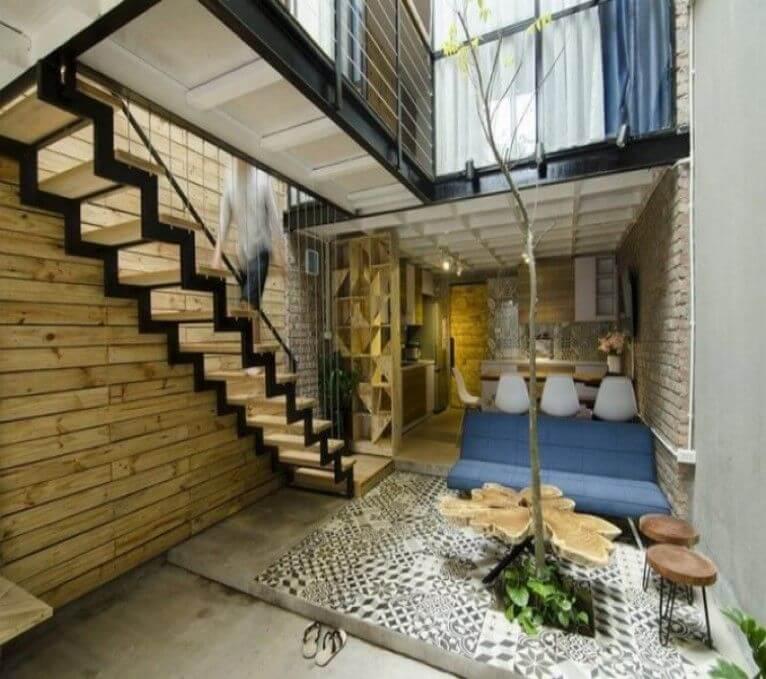 Nguyên tắc thiết kế khoảng thông tầng trong nhà phố