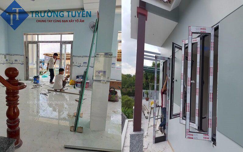 đơn Vị đang Lắp Cửa Nhôm ở Phú Nhuận Giá Rẻ
