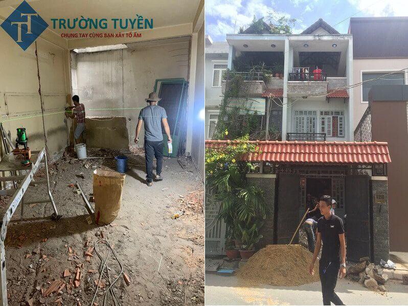 Công Tác Chuẩn Bị Sửa Nhà ở Thủ đức