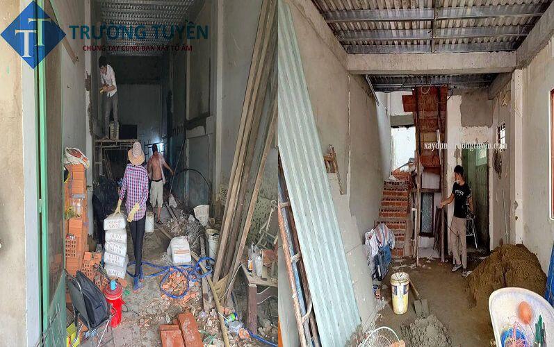 Hình ảnh Sửa Nhà Tại đường Phạm Thế Hiển