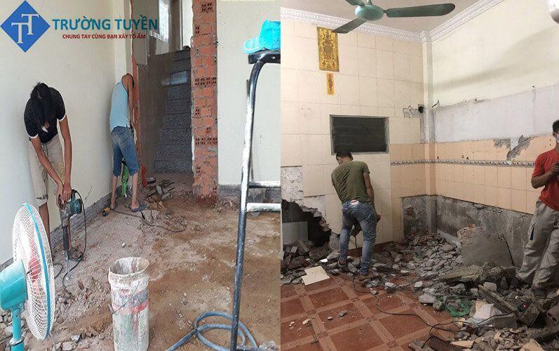 Hình ảnh Tháo Dỡ để Sửa Chữa Tại Phú Nhuận