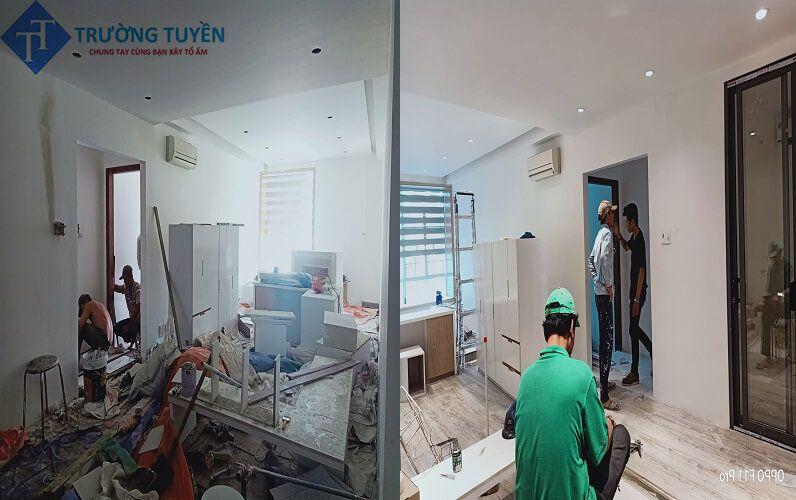 Hình ảnh Trước Và Sau Khi Sửa Nhà ở Tân Phú