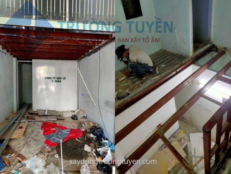 Thi Công Sửa Gác Lửng Nhà Chị Hồng đường Bình Phú Tại Quận 6