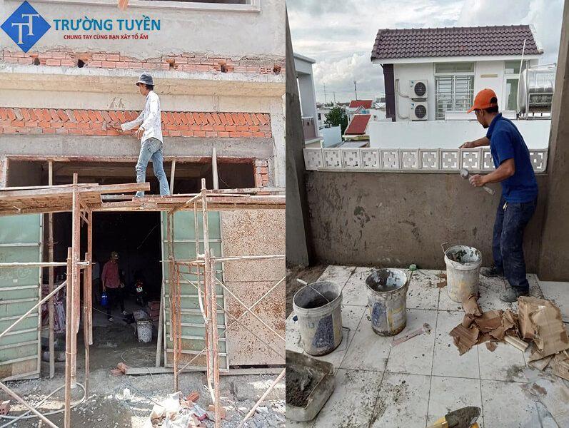Trang Trí Mặt Tiền ở đường Phạm Văn Chiêu Gò Vấp