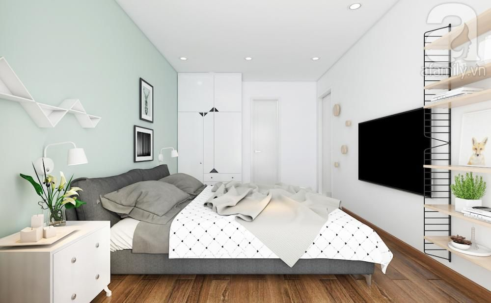 Tư vấn bố trí nội thất cho căn hộ 100m² với chi phí 200 triệu
