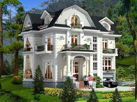 Một Số Mẫu Biệt Thự Đẹp