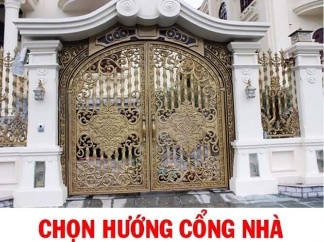 Chia sẻ những lưu ý khi xây cổng nhà theo phong thủy