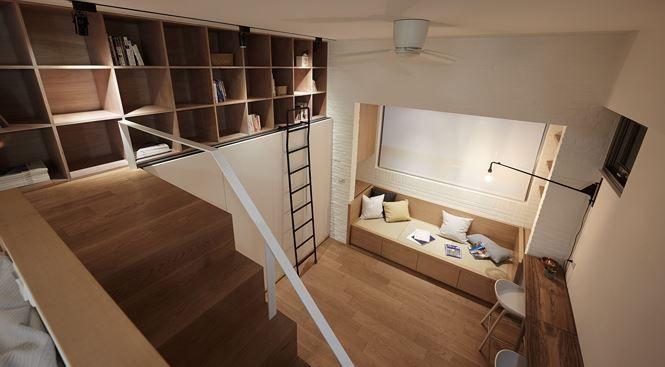 Nhà nhỏ bỗng rộng thênh thang nhờ thiết kế thông minh