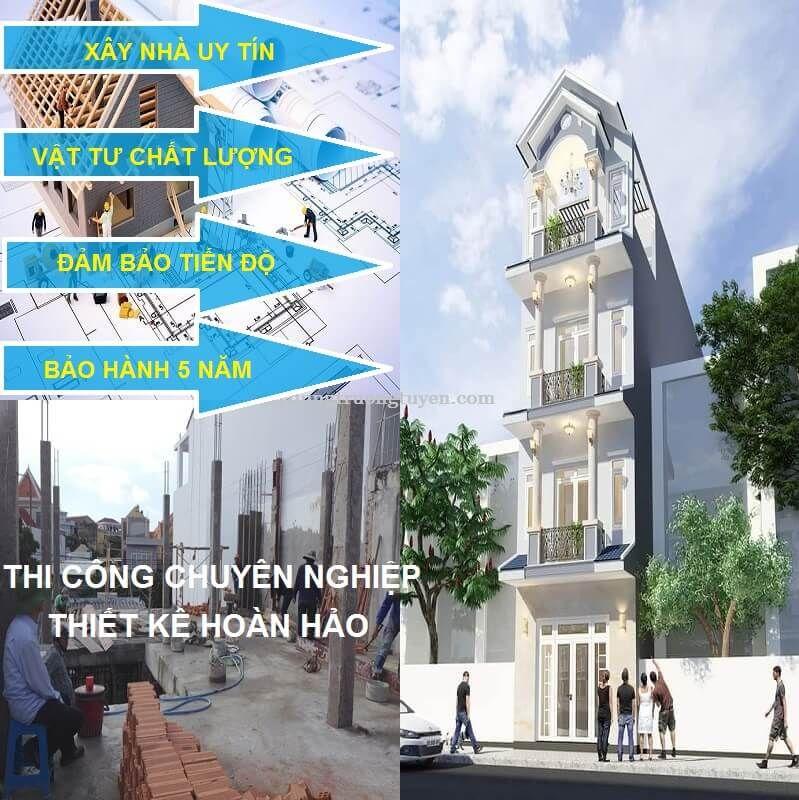 Những Hạng Mục Trong Xây Nhà Trọn Gói ở Quận Tân Phú